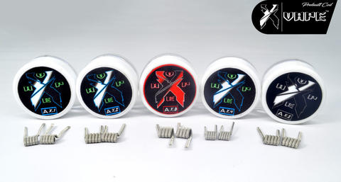 Xvape Coil vape Alien fused clapton premade Twisted Messes Anarchist