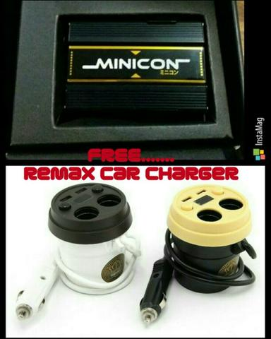 minicon free remax car charger
