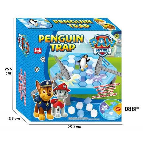Penguin Trap Paw Patroll Activate Mainan Anak