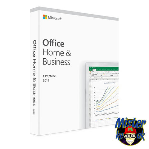 License Office 2019 Home and Business for Mac Original RETAIL