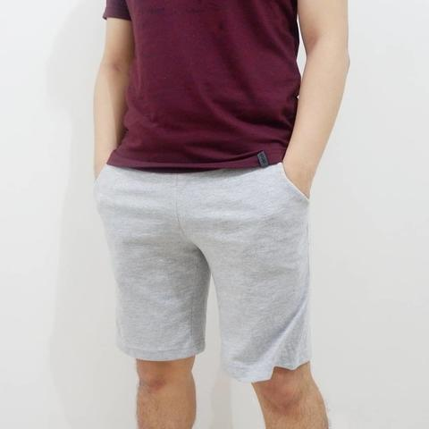 Celana Pendek Cowok Casual Reebok Casual Shorts Light Grey Original