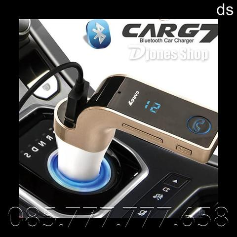 Car USB Bluetooth FM Mp3 Carg7 - BLUETOOTH CAR CHARGER WITH DIGITAL