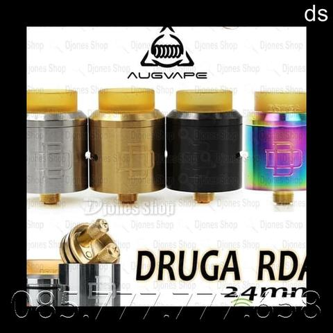 RDA DRUGA 24mm by AUGVAPE - DRUGA RDA 24 mm - PROMO GROSIR