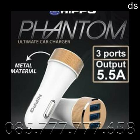 Saver Hippo PHANTOM 3 Output | Charger Mobil / Car Charger