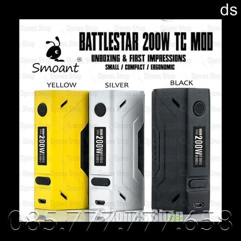 Smoant Battlestar 200W TC Box Mod ( MOD ONLY )