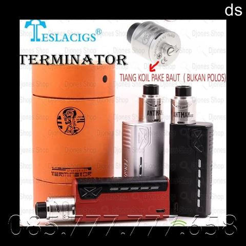 TESLA TERMINATOR 90Watt KIT + RDA ANTMAN 22MM - Hitam