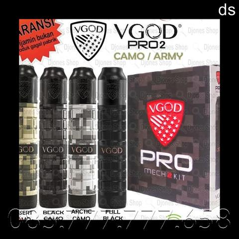VGOD PRO MECH 2 CAMO ARMY NEW SERIES LIMITED EDITION + RDA VGOD ELITE