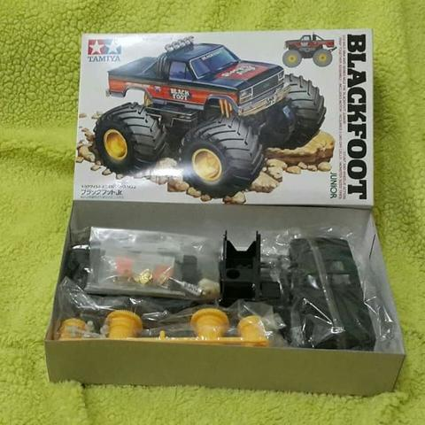 Tamiya Bigfoot Mini 4WD Blackfoot