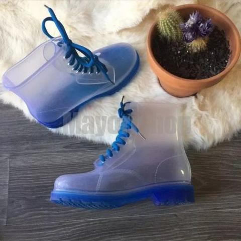 READY Boots Jelly Anak Anak BLUE Size 31-35 Import Kids Shoes