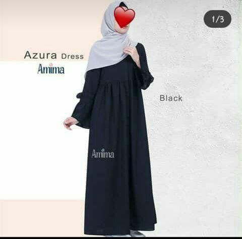 Azura dress black M by amima