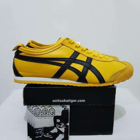 los angeles f7420 6ebb8 Asics Onitsuka Tiger Mexico 66 Yellow Black Kill Bill Original not Gel Saga