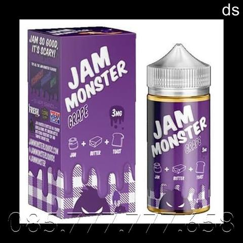 Premium Liquid USA Jam Monster 100 ML - Liquid Vape Import 100ml