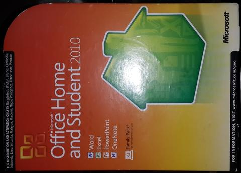 Office Home and Student 2010 (3 users) Microsoft