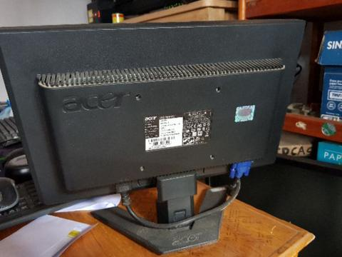 JUAL MONITOR ACER X163W 16inch