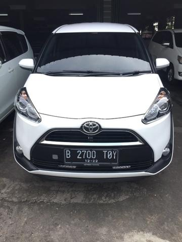 2017 Toyota Sienta G AT Unit Super Istimewa Automatic Good Condition