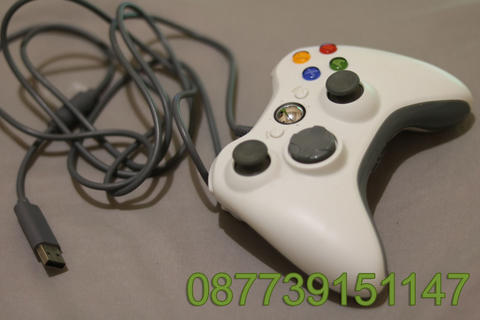Stick Stik Game Wired Kabel PC Laptop XBOX 360 bekas