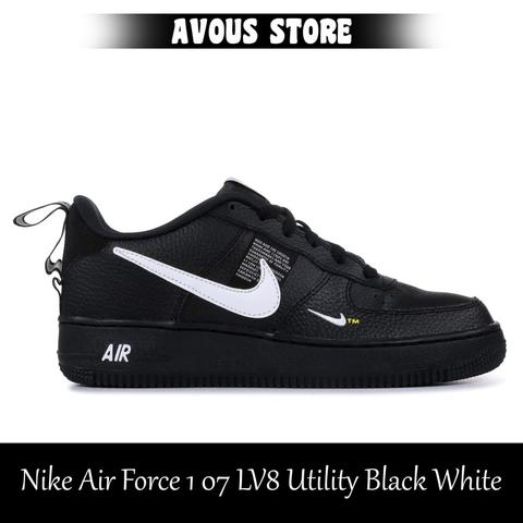 buy popular 4f8db 4ee78 Jual Nike Air Force 1 07 LV8 Utility Black White   KASKUS