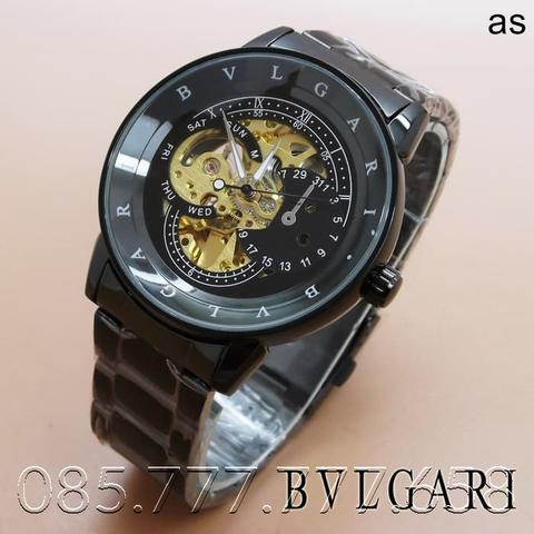 Bvlgari Skeleton Chain (Full Black)