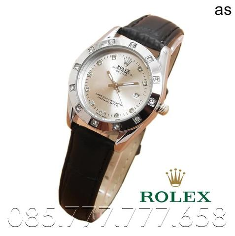 Rolex Oyster Leather (White Black)