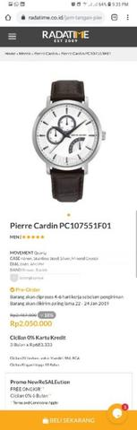 Pierre Cardin Time Couture PC107551F01
