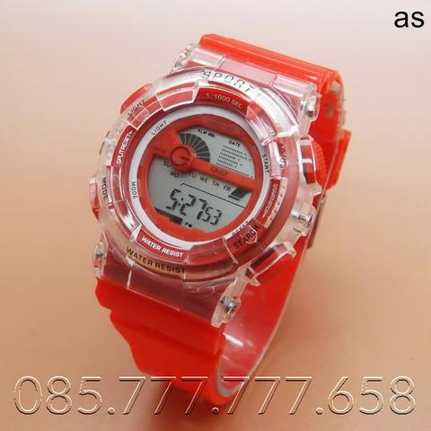 Jam Tangan Q&Q Digital (Red)