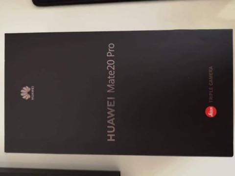 Huawei Mate 20 Pro / 20Pro. Not P20 Pro, Samsung S9 Plus, OnePlus 6T 6 5T, iPhone X