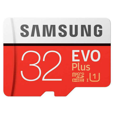 Samsung MicroSD EVO Plus Class 10 UHS-1 with SD Adapter - 32GB