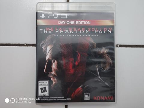 Jual BD PS3 Metal Gear Solid 5 TPP Secondhand