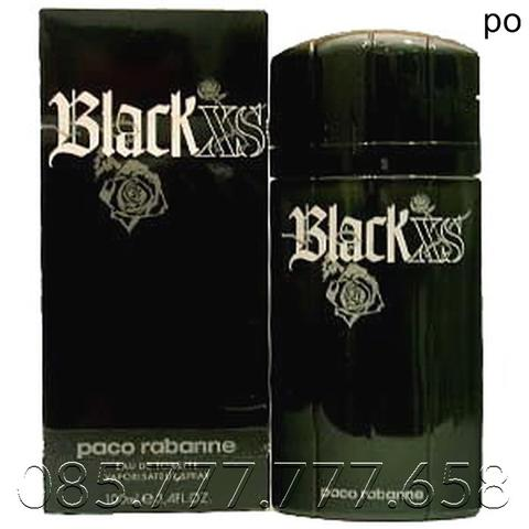Parfum Original Paco Rabanne XS Black Men EDT 100ml GARANSI