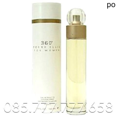 Parfum Original Perry Ellis 360 White for Women EDT 100ml GARANSI
