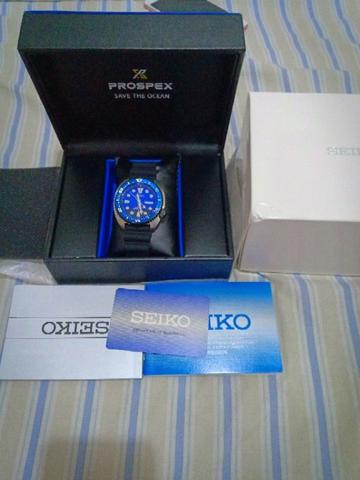 Seiko Prospex SRPC91K1 Turtle Save The Ocean Automatic Brand New Garansi Resmi 1 Thn