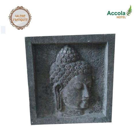 Andesite Stone Relief Panel