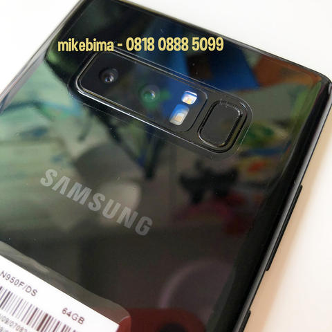 Samsung Galaxy Note 8 Black bs TT iPhone X or Xs or Xr 100% Original