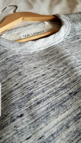 OUR LEGACY Great Sweat Marble Pattern Sweater