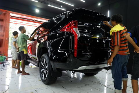 Nano ceramic coating 9H Paint Protection | salon mobil surabaya