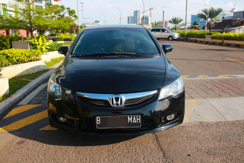 Honda Civic FD1 AT 2009 Hitam Terawat