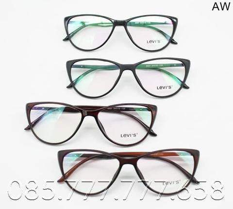 Frame Kacamata Minus Fashion Cat Eye Wanita