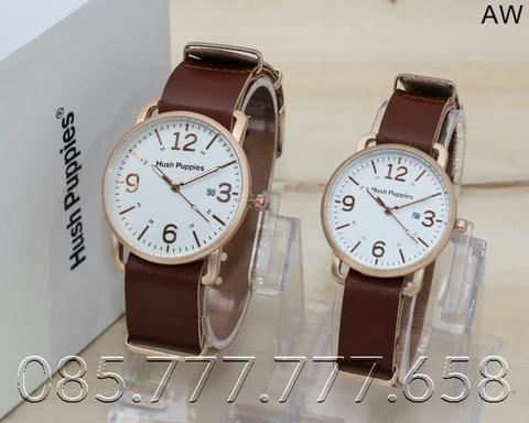 JAM TANGAN HUSH PUPPIES CP KULIT RING ROSE 0422
