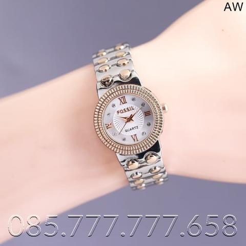 READY JAM TANGAN WANITA FOSSIL RANTAI UK D-26MM
