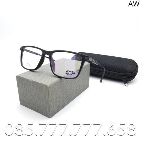 PAKET Lensa Photochromic / Anti Blue Ray - KACAMATA MONT BLANC MB0195