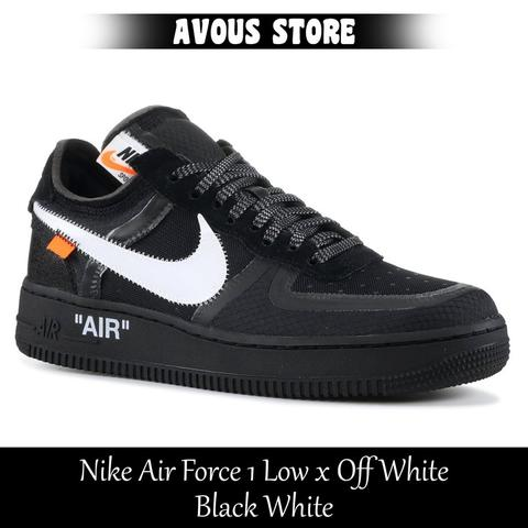 newest collection d6f84 208d1 Nike Air Force 1 Low x Off White Black White