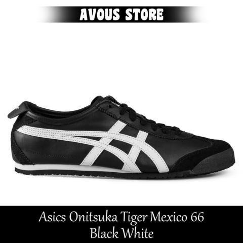buy popular 60d85 bc4d1 JUAL Asics Onitsuka Tiger Mexico 66 Black White