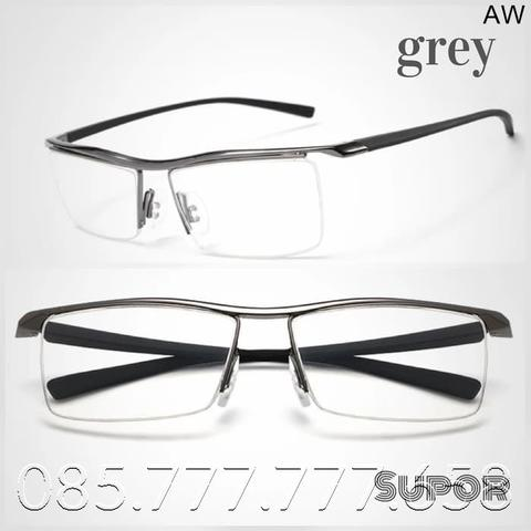 Jual Kacamata Half frame Titanium Lensa Essilor T7 Transitions Photo ... f28711f722