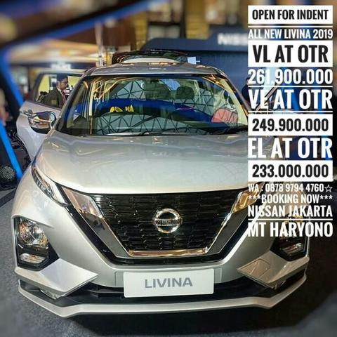NEW COMERS NISSAN NEW LIVINA 2019 OPEN INDENT