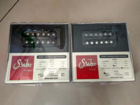 suhr pickup humbucker ssv 50mm dan ssh+ bridge 53mm