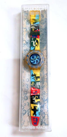 Swatch Lady Octopus