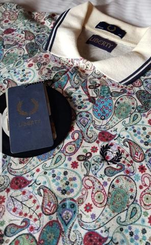Fred Perry x Liberty London POLO Shirt Limited Edy