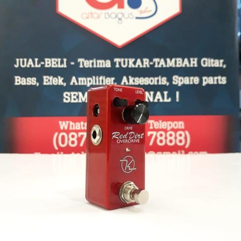 KEELEY RED DIRT OVERDRIVE PEDAL MINI - MADE IN USA