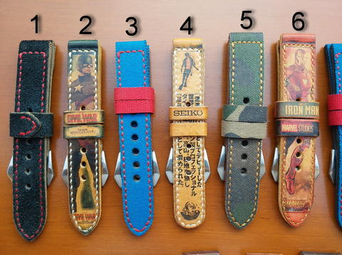 PART 76 Leather Strap Vintage size 20/22/24/26mm.