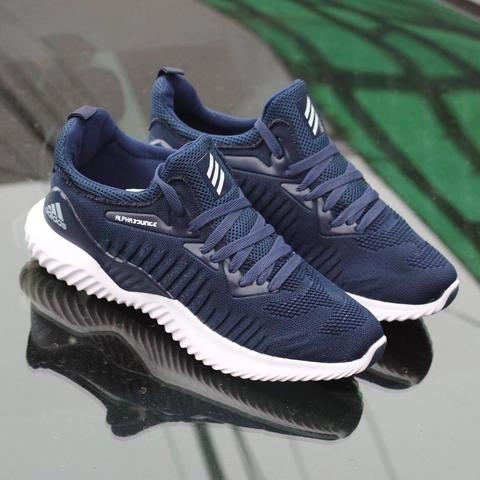 cba9648ab333b Jual Adidas Alphabounce Beyond Men Navy White